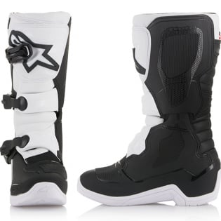 Alpinestars Youth Boots Tech 3S - Black White Image 2