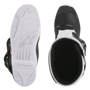 Alpinestars Youth Boots Tech 3S - Black White Image 3