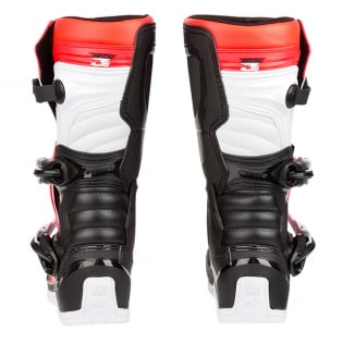 Alpinestars Youth Boots Tech 3S - Black White Flo Red Image 4