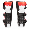 Alpinestars Youth Boots Tech 3S - Black White Flo Red