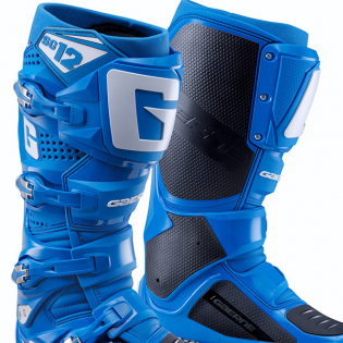 Gaerne SG12 Solid Blue Motocross Boots Image 2
