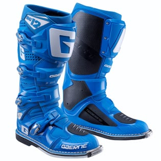 Gaerne SG12 Solid Blue Motocross Boots Image 3