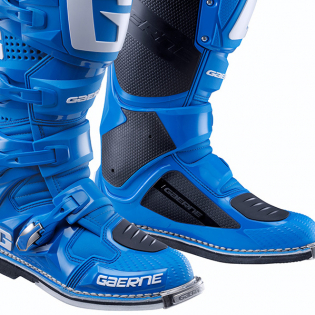 Gaerne SG12 Solid Blue Motocross Boots Image 4