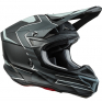 ONeal 5 Series Sleek Black Grey Motocross Helmet