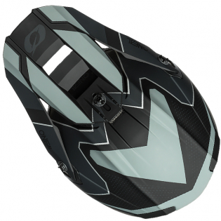 ONeal 5 Series Sleek Black Grey Motocross Helmet Image 3