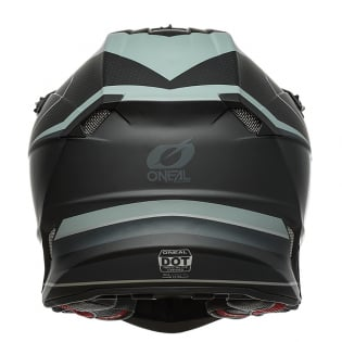 ONeal 5 Series Sleek Black Grey Motocross Helmet Image 4