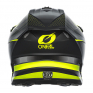 ONeal 5 Series Sleek Black Neon Yellow Motocross Helmet