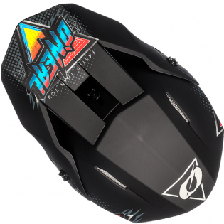 ONeal 3 Series Speedmetal Black Multi Motocross Helmet Image 3