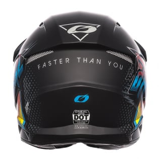 ONeal 3 Series Speedmetal Black Multi Motocross Helmet Image 4