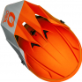 ONeal 1 Series Solid Orange Motocross Helmet