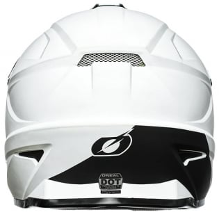 ONeal 1 Series Solid White Motocross Helmet Image 2