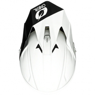 ONeal 1 Series Solid White Motocross Helmet Image 4