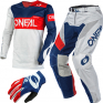 ONeal Airwear Freez Grey Blue Red Vented Jersey