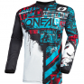 ONeal Element Ride Black Blue Jersey