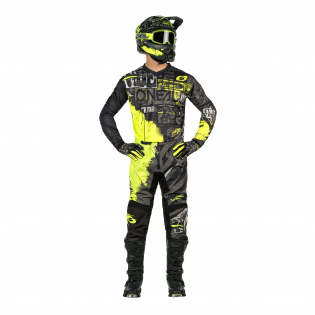 ONeal Element Ride Black Neon Yellow Jersey Image 2