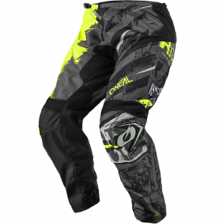 ONeal Element Ride Black Neon Yellow Pants Image 2