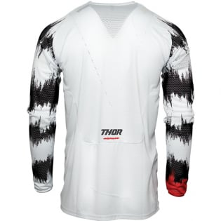 Thor Kids Pulse Air Rad White Red Jersey Image 4