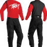 Thor Kids Sector Link Red Jersey