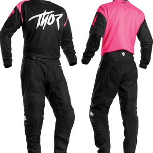 Thor Kids Sector Link Pink Jersey Image 2