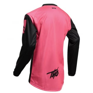 Thor Kids Sector Link Pink Jersey Image 4