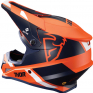 Thor Sector MIPS Split Orange Navy Helmet