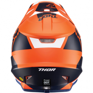 Thor Sector MIPS Split Orange Navy Helmet Image 3
