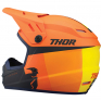 Thor Kids Sector Racer Orange Midnight Helmet