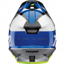 Thor Sector Fader Blue Black Helmet