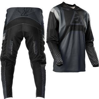 Answer Syncron Swish Nickle Steel Charcoal Jersey Image 3