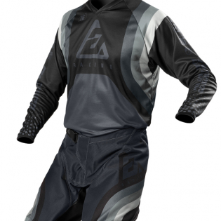 Answer Syncron Swish Nickle Steel Charcoal Jersey Image 4
