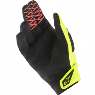 Alpinestars Racefend Black Yellow Fluo Red Fluo Gloves Image 3