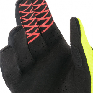 Alpinestars Racefend Black Yellow Fluo Red Fluo Gloves Image 4