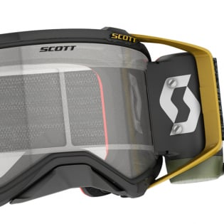 Scott Prospect WFS Black Gold Clear Roll Off Goggles Image 2
