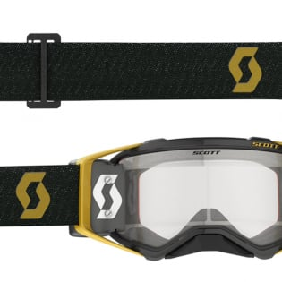 Scott Prospect WFS Black Gold Clear Roll Off Goggles Image 4
