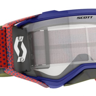 Scott Prospect WFS Red Blue Clear Roll Off Goggles Image 4