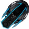 ONeal 3 Series Vision Black Grey Blue Motocross Helmet