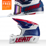 Leatt 8.5 V21.1 Blue Helmet