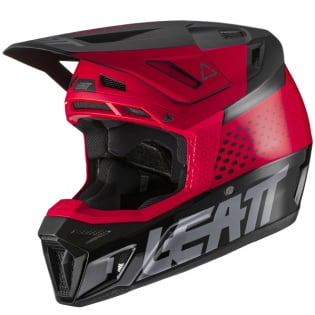 Leatt 8.5 V21.1 Red Helmet Image 4