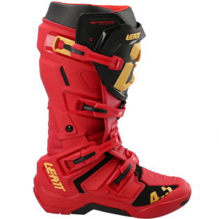 Leatt 4.5 Rioja Red Moto Boots Image 2