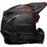Bell Moto 9 Carbon Flex Fasthouse Day in the Dirt Black Grey Red Helmet