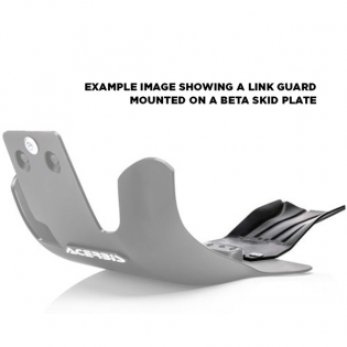 Acerbis Universal White Skid Plate Link Guard Image 2