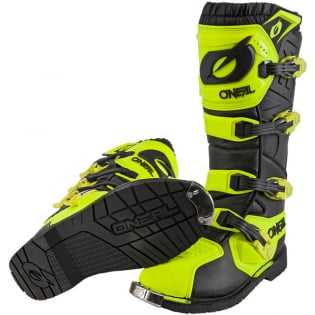 ONeal Rider Pro Neon Yellow Boots Image 3