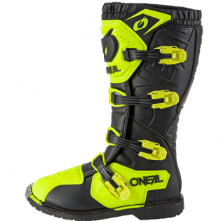 ONeal Rider Pro Neon Yellow Boots Image 4