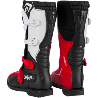 ONeal Rider Pro Black White Red Boots Image 2