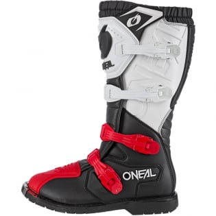 ONeal Rider Pro Black White Red Boots Image 4