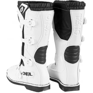 ONeal Rider Pro White Boots Image 2