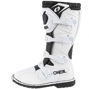 ONeal Rider Pro White Boots Image 3