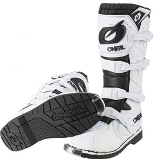 ONeal Rider Pro White Boots Image 4
