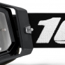 100% Racecraft 2 Black Clear Lens Goggles