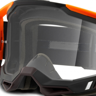 100% Racecraft 2 Costume 2 Clear Lens Goggles Image 4